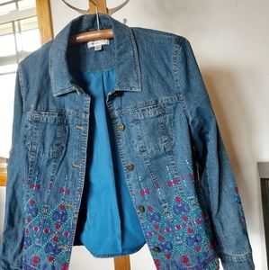 Coldwater Jackets & Coats - Coldwater Creek Denim Jacket